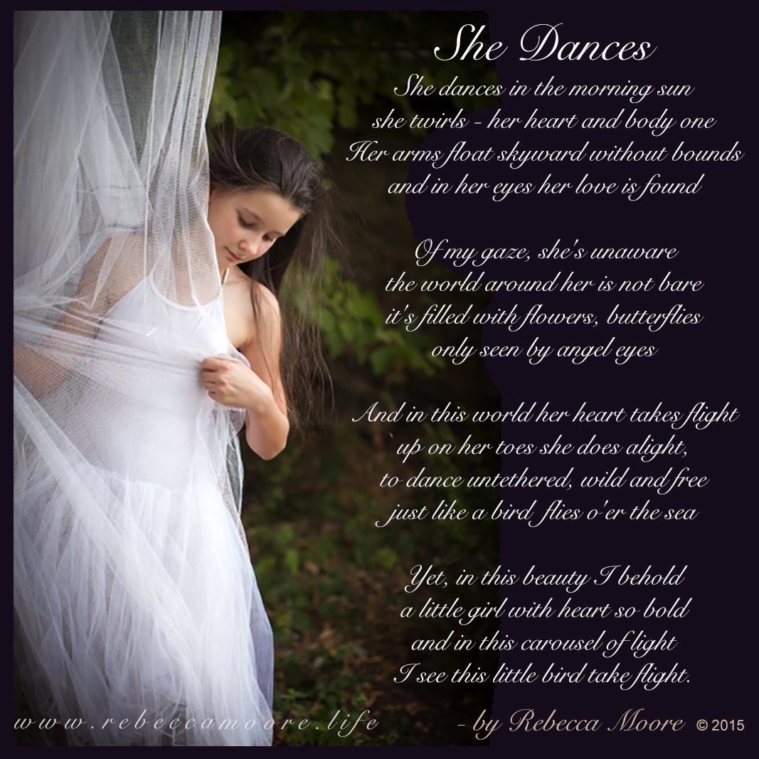 Poem – She Dances